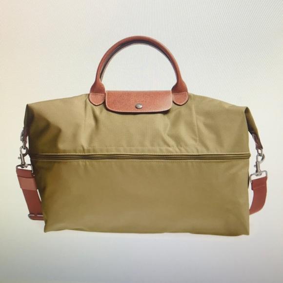 Longchamp Handbags - Longchamp Le Pliage 21-inch Expandable Travel Bag e4313333a6